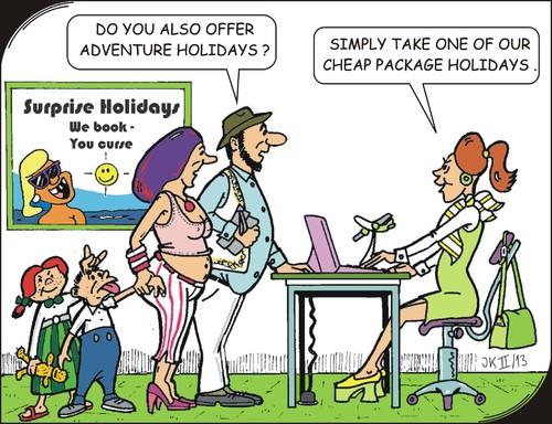 cartoon adventure holidays medium by jotka tagged leisureseabeach - Holiday Cartoon Images