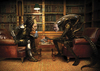 Cartoon: Alien vs Predator Scontro Finale (small) by azamponi tagged berlusconi,fini,italy,pdl