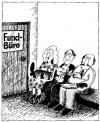 Cartoon: no title (small) by King George tagged büro,messer,kopf,bein,