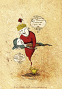 Cartoon: The Gin and the Girl (small) by CIGDEM DEMIR tagged girl woman gin executioner lamba