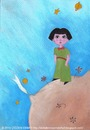 Cartoon: The Little Prince Asli (small) by CIGDEM DEMIR tagged asli yucel cigdem demir 2010 the little princess book woman