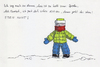 Cartoon: Spassbremse (small) by bertgronewold tagged schnee,daunenkleidung,spass