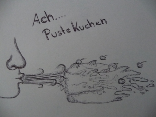 Cartoon: Ach...Pustekuchen (medium) by FAY tagged pustekuchen