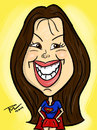 Cartoon: Esly Carrero (small) by rubel tagged esly,carrero