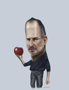 Cartoon: steve jobs (small) by AkinYaman tagged steve,jobs