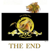Cartoon: THE END (small) by bernie tagged cinema,kino,mgm