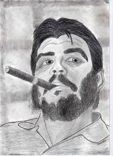 Cartoon: Che Guevara (medium) by Marcello tagged che,guevara,revolution,bolivia,cuba