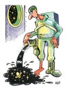 Cartoon: After cosmos (small) by Dluho tagged cosmos