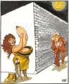Cartoon: Sex bandit (small) by Dluho tagged love