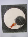 Cartoon: Sisyphus (small) by Dluho tagged sisyphus