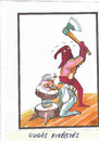 Cartoon: spring execution (small) by Dluho tagged death