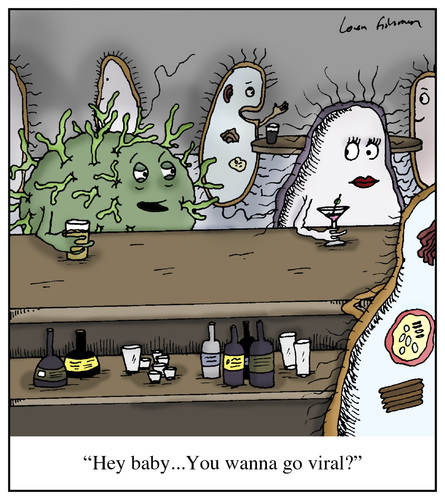 infection control cartoon image | just b.CAUSE
