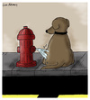 Cartoon: Hydrant Revenge (small) by Humoresque tagged dog,dogs,canine,canines,behavior,pet,pets,owner,owners,fire,hydrant,hydrants,pee,peeing,piss,pissing,territory,territorial,mark,marks,marking,walk,walks,walker,walkers,walking,behaviors,role,reversal,reversals,reverse,reversing