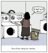 Cartoon: Rosa Parks doing her laundry (small) by Humoresque tagged race,racism,racial,racist,racists,black,history,prejudice,discrimination,civil,rights,movement,rosa,parks,equal,equality,inequality,laundry,laundromat,laundromats,clothing,washer,washers,dryer,dryers,african,american,americans