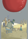 Cartoon: Gazze (small) by Gölebatmaz tagged filistin,israil,gazze,savas,hamas,fuze