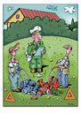Cartoon: Kurtu05garten (small) by kurtu tagged garten