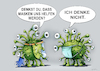 Cartoon: nasken (small) by kurtu tagged nasken