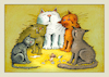Cartoon: tiere (small) by kurtu tagged tiere