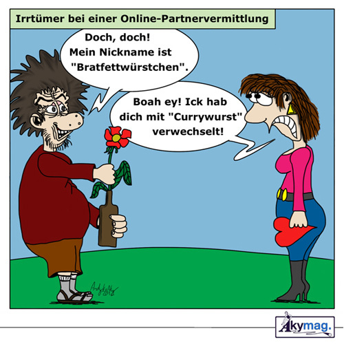 Partnervermittlung lustig