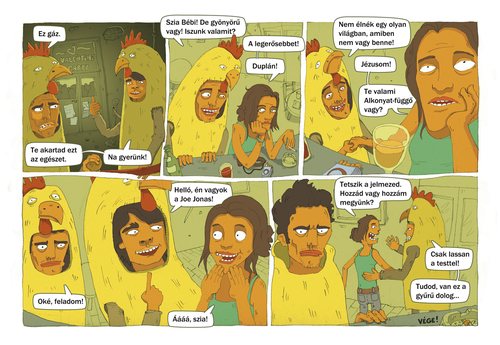Cartoon: BRAVO comics 2010 feb. (medium) by Dartve tagged comics,david,toth