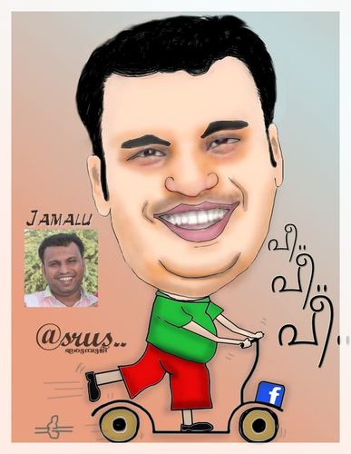 Cartoon: Jamalu (medium) by asrus tagged asrus