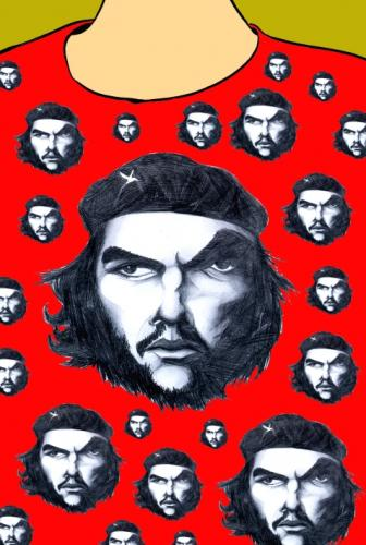 Cartoon: CHE (medium) by Mario Almaraz tagged che,guevara,