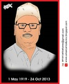 Cartoon: Manna Dey Caricature (small) by Amar cartoonist tagged manna,dey,caricature