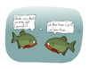 Cartoon: Piranhas (small) by thomas_hollnack tagged piranhas,carrots