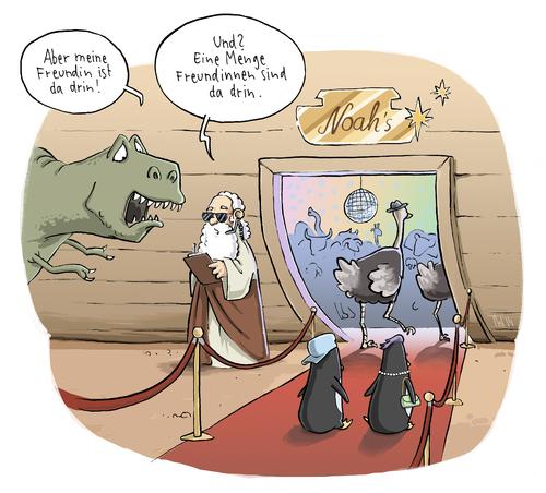 Knallhart By Tobias Wieland  Religion Cartoon  TOONPOOL