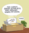 Cartoon: Bizzaro-Büro (small) by Tobias Wieland tagged kaffee,cafe,büro,to,go,togo,arbeit,job,boss,chef,sekretärin