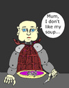 Cartoon: Dont like my soup (small) by Marbez tagged androids,problems,meal