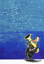 Cartoon: Space and Music (small) by kamil yavuz tagged fryderyk,chopin,200,sky,music