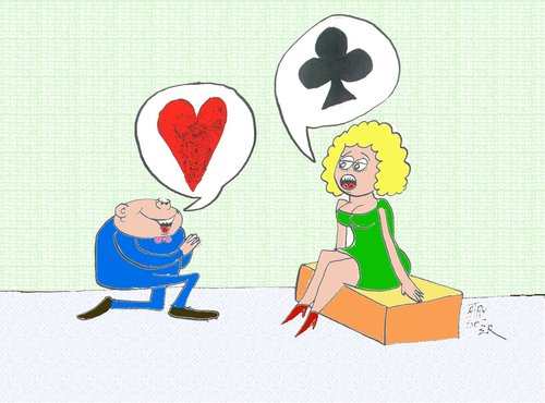 Cartoon: Love (medium) by ataysozer tagged love
