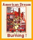 Cartoon: American Dream Burning (medium) by ray-tapajna tagged workers,burning,dream,american,dignity,betrayed