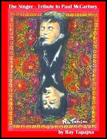 Cartoon: Paul McCartney - The Singer (medium) by ray-tapajna tagged paul,mccartney,the,singer,tribute,soft,touch,art,fabric,rare,us,postage,stamp,collectibles,signed,dated,numbered,unique