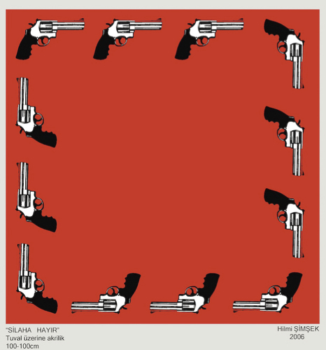 Cartoon: No Gun (medium) by Hilmi Simsek tagged gun,silah,tabanca
