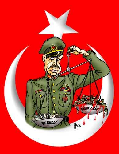 Recep Tayyip Erdogan Soldiers an By Hilmi Simsek | Politics Cartoon |  TOONPOOL