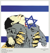 Cartoon: Israel - Palestine (small) by Hilmi Simsek tagged israel,palestine,bayb,child