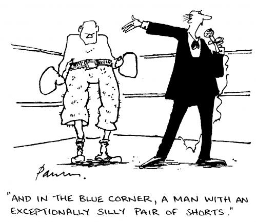 Cartoon: Boxer Shorts (medium) by Paulus tagged boxing,sport,fashion,