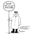 Cartoon: Stop (small) by Paulus tagged traffic