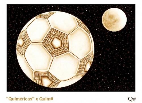 Cartoon: THE PENTAGON AND THE HIVE-BALL (medium) by QUIM tagged bee,hive,football,hooligans,ball,pentagon,defense,earth,moon,the,illustration,hooligans,ball,pentagon,sicherheit,fussball,abwehr,planeten,weltrraum,weltall,all,space,em,wm