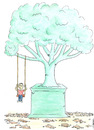 Cartoon: deforestation (small) by emraharikan tagged deforestation