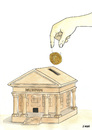 Cartoon: museum (small) by emraharikan tagged museum,archelogy