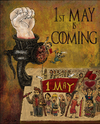 Cartoon: 1st May Coming (small) by gunberk tagged 1may,game,of,thrones,slogans
