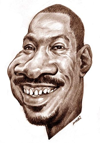 Cartoon: Eddie Murphy (medium) by Medi Belortaja tagged murphy,eddie