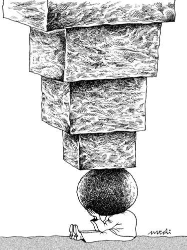 Image result for burden on head