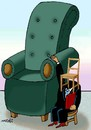 Cartoon: dream to be an important chair (small) by Medi Belortaja tagged dream,to,be,an,important,chair