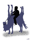 Cartoon: horsemanis (small) by Medi Belortaja tagged horse,man,horseman,politics,politicians,leader,chief,power