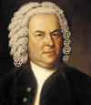 Cartoon: johann sebastian bach (small) by Medi Belortaja tagged johann,sebastian,bach,musicians,internet