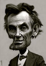 Cartoon: Lincoln (small) by Medi Belortaja tagged abraham,lincoln